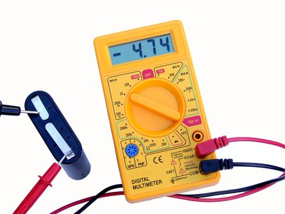 A multimeter is essential for electrial work.