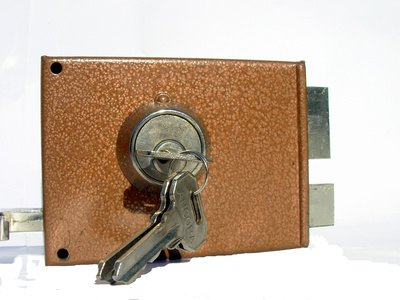 Deadbolt locks are a popular choice for exterior doors.