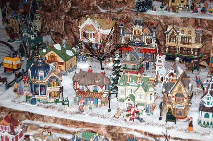 Xmas Village Display Ideas With Pictures Ehow