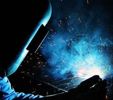 Trained tig welders are needed to fill openings.