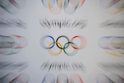 Decorate invitations with the five Olympic rings.