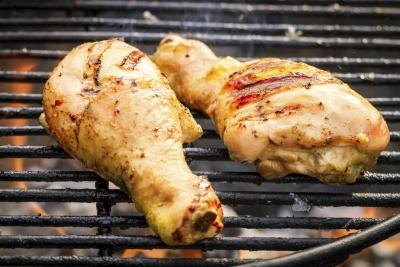 fresh grilled chicken