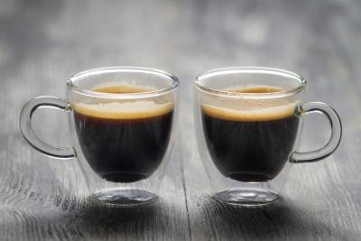 two espresso drinks