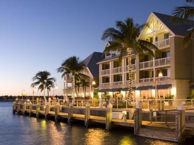 You can find luxury hotels and nightlife in Key West.