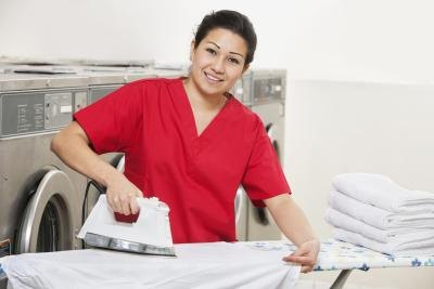 laundry attendant job description Job description the main duties of the laundry attendant position is to wash, dry, iron and fold hotel linen for use by departments long hours, many of them standing, sometimes required medium work, exerting up to 50 pounds of force occasionally.