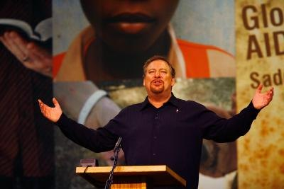 Saddleback Community Church pastor Rick Warren.