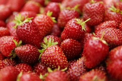 Strawberries may lower uric acid levels.