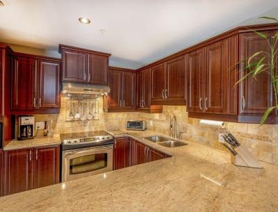 Having a granite countertop professionally installed costs between $50-$100 per square foot.