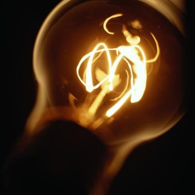 The filament used in these bulbs evaporates over time and burns out.