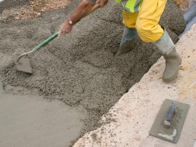 Concrete can be mixed in different ratios for different projects.