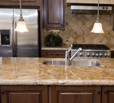 Granite is very durable