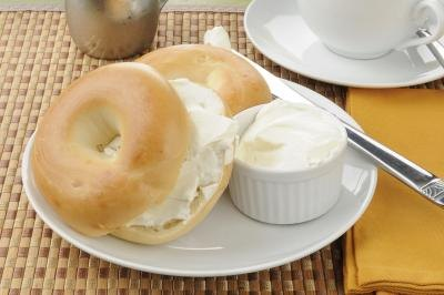 Cream cheese is very high in fat.