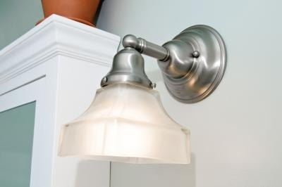 Consider wall sconces to add illuminating light for narrow hallways.