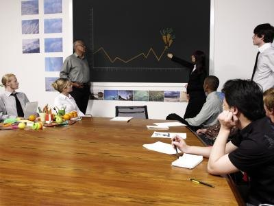 A business presentation is an informal verbal communication method.