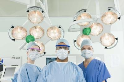 doctors in surgical scrubs