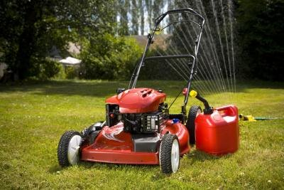 Cut grass with clean and sharp mower blades.