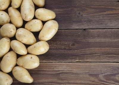 Starches like potatoes are more complex molecules.