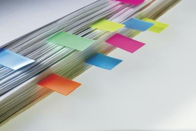 Color coding can help separate documents and variations of formulas.