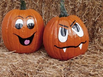 Pumpkin decorating contest ideas with pictures ehow Easy pumpkin painting patterns