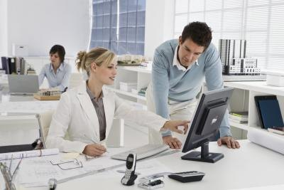 Businesses deploy computer systems to foster collaboration and communication.