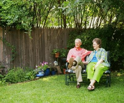 older couple living in warm climate