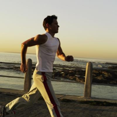 Jog for an hour each day