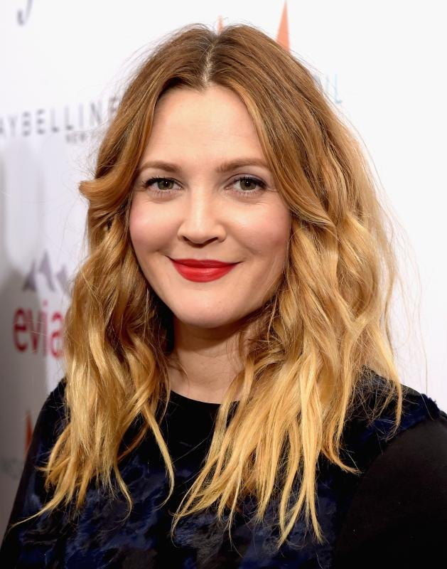 Drew Barrymore's honey-hued locks are a beautiful complement to her hazel eyes.