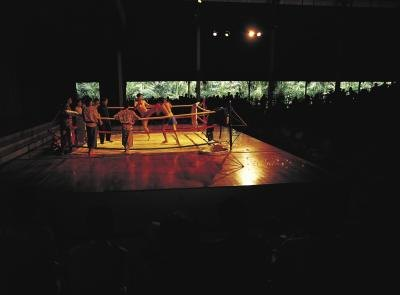 Kickboxing developed in the tournament circuit.