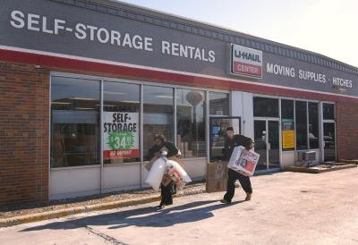 U-Haul rental store in Illinois