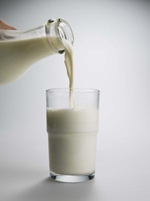 Dairy and milk products contain healthy protein.