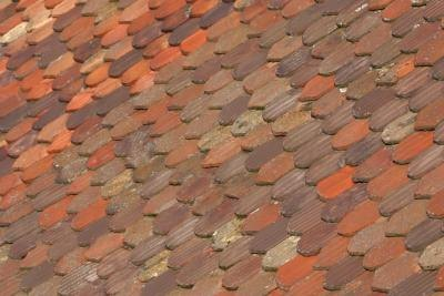 Shingles are available that use a blend of colors to create a variegated color pattern.