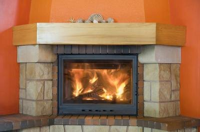 Don't use a fireplace with a gas line installed until you determine whether it is a gas fireplace or a wood-burning fireplace with a gas starter.