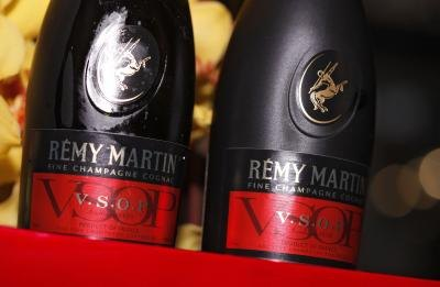 Remy Martin is a popular brand of cognac.