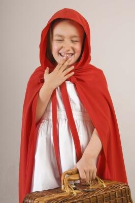Who can resist a little girl in a Red Riding Hood costume?