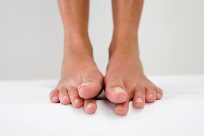 Avoid athlete's foot and toentail fungus