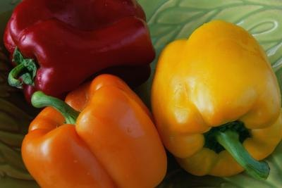 bell peppers come in a variety of colors
