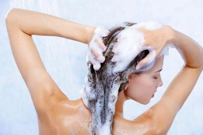 Sodium lauryl sulfate is a detergent and emulsifier in shampoos.
