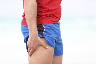 If you are suffering from compartment syndrome of the posterior thigh, a muscle has become too big for the sheath that surrounds it.