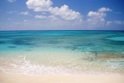Beach on Grand Turk, Caribbean