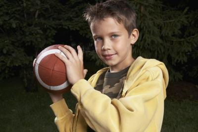 Start learning to play football at a young age.