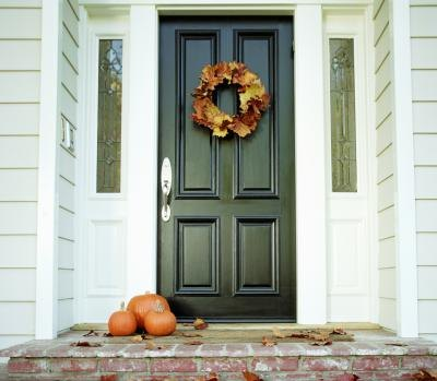 Exterior paint ideas for a ranch style home with pictures ehow - Exterior door painting style ...