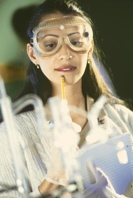 Scientists can observe enzymatic reactions in  the laboratory.