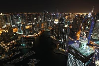 Dubai is gleaming and high-tech but culturally conservative.