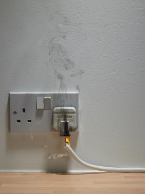 Outlets are a source of electric shock, especially during a lightning strike to a building.