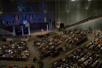 Two Rivers Baptist church in Nashville Tennessee.