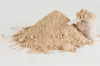 A scoop of energy powder