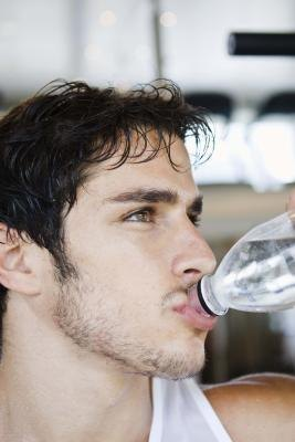 Drinking water helps metabolic processes.