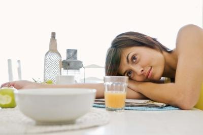 Fruit juice can help combat the feeling of fatigue.