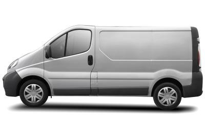 Use friends and family's help to drive a van.