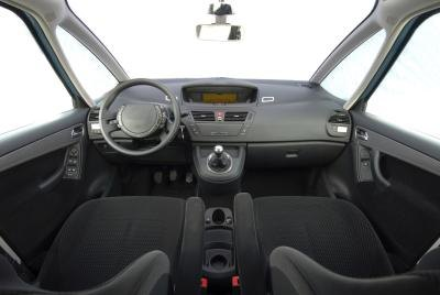 Interior of car.